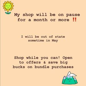 Shop while you can